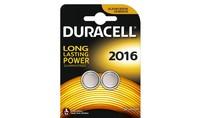 Duracell Knoopcelbatterijen 2016 2st.