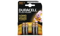 Duracell Alkaline Plus Power AAA 4st.