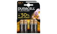 Duracell Alkaline Plus Power AA 4st.