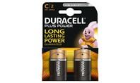 Duracell Alkaline Plus Power C 2st.