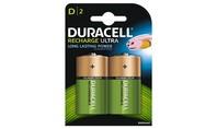 Duracell Oplaadbare Batterijen Ultra D 2st.