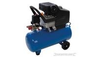 Silverstorm DHZ 2 pk luchtcompressor 1500 W 24 Liter