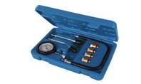 Silverline 8-delige compressietester set voor benzinemotoren  0 - 300 psi