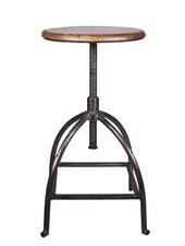 Broste Copenhagen Industrial stool - Metal and wood - Broste Copenhagen