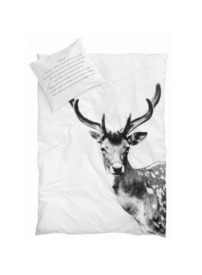 By Nord Housse de couette Junior Cerf - 100x140cm - By Nord