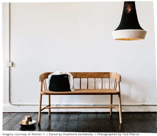 HK Living Banc / Canapé d'extérieur Sofa en teck naturel marron - HK Living