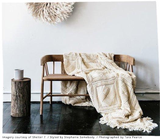HK Living Bench / Outdoor sofa - brown natural teak sofa - HK Living