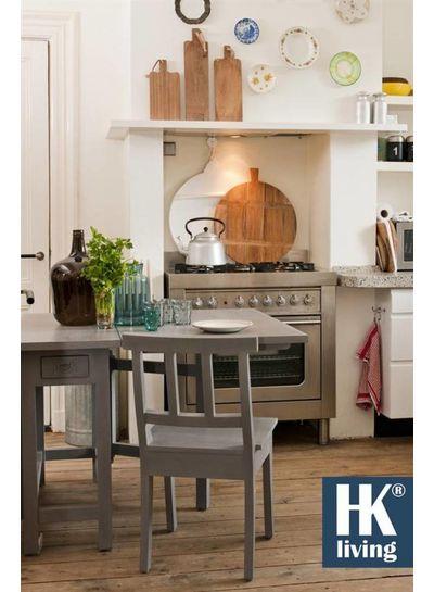 hk living planche d couper en teck naturel hk living petite lily interiors. Black Bedroom Furniture Sets. Home Design Ideas