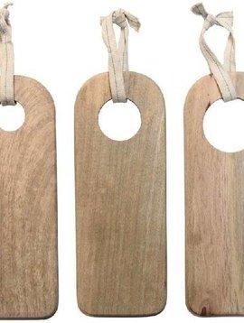 HK Living Set de 3 Planches à découper en bois naturel - HK Living