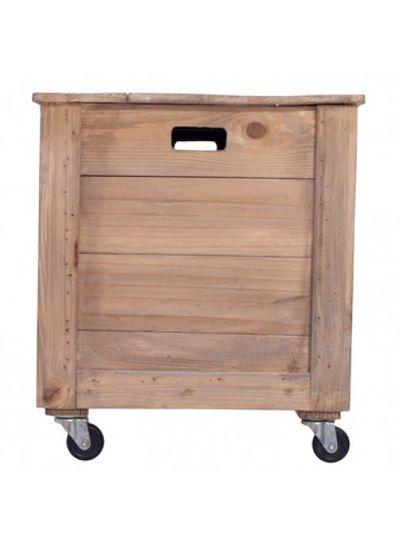 Storebror Caja de almacenamiento grande - Madera Natural - Storebror