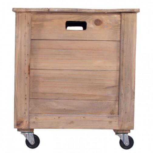 Storebror Grande boîte de rangement - Bois Naturel - Storebror