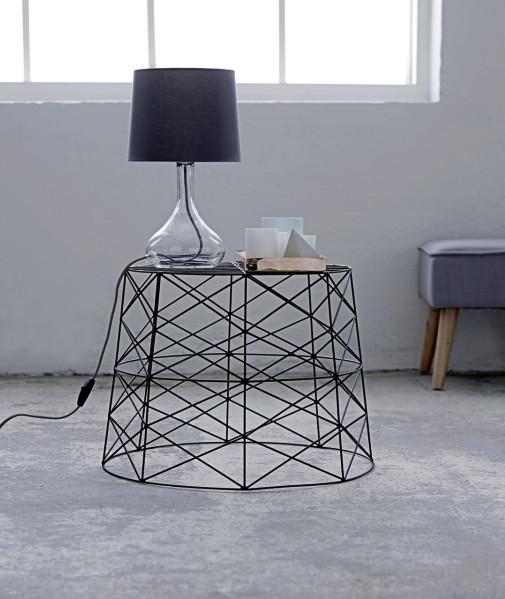 panier table basse cuivre bloomingville petite. Black Bedroom Furniture Sets. Home Design Ideas