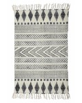 House Doctor Alfombra 'Block' Gris y Negro - 160x230cm - House Doctor