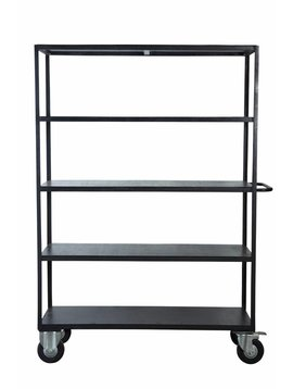House Doctor Industrial shelf - Black - House Doctor