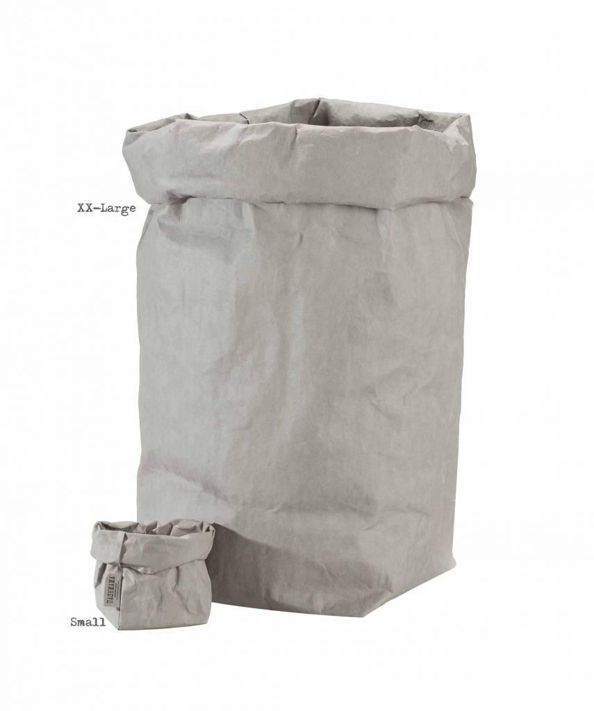 Uashmama Bolsa de papel lavable - Gris - Uashmama