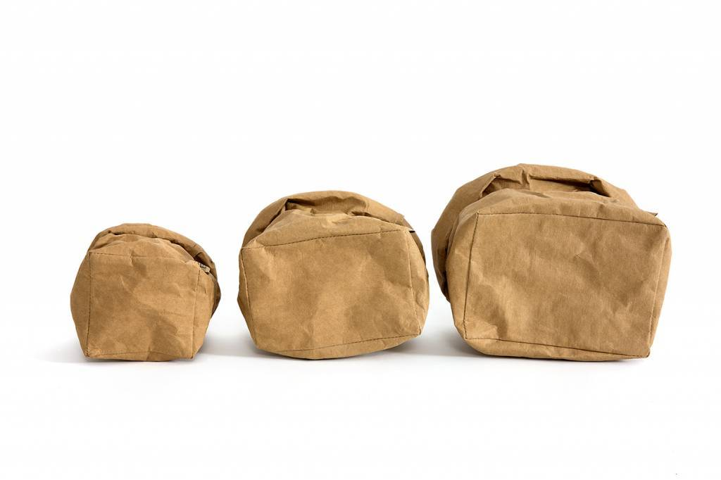 Uashmama Washable Paper Bag - Natural / Brown - Uashmama