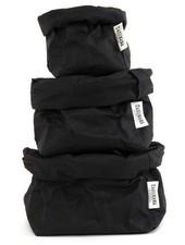 Uashmama Washable Paper Bag - Black - Uashmama