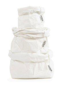 Uashmama Bolsa de papel lavable blanco - Uashmama