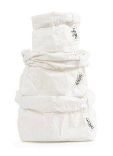 Uashmama Bolsa de papel lavable - Blanco - Uashmama