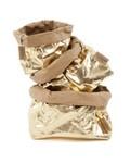 Uashmama Washable Paper Bag - Laminated Gold / Brown - Uashmama