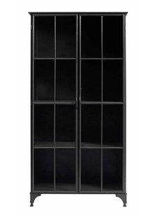 Nordal Industrial metal Downtown Cabinet - black - Nordal
