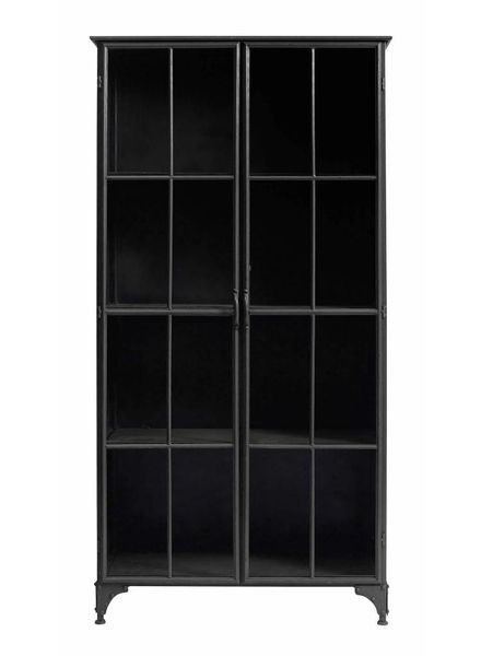 Nordal Industrial metal Downtown Cabinet - black - Nordal