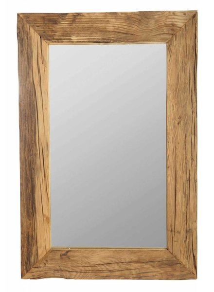 House Doctor Mirror with wooden frame - 60x90cm - House Doctor