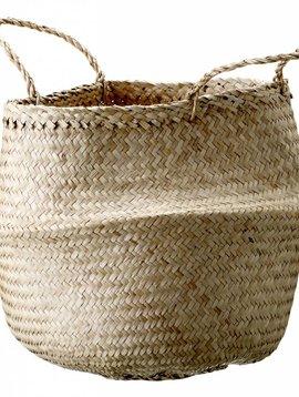 Bloomingville Cesta de Pastos Marinos - Beige - Ø35xH40 cm - Bloomingville