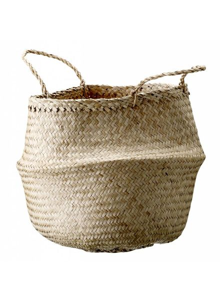 Bloomingville Seagrass basket - natural - Ø35xH40 cm - Bloomingville