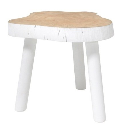 HK Living Table Basse Arbre - 33cm - bois blanc - HK Living