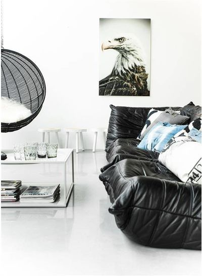 HK Living Table Basse Arbre - 33cm - bois blanc - HK Living