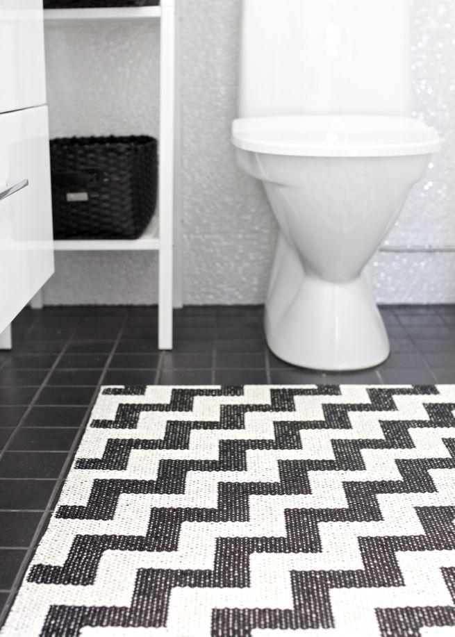 Brita Sweden Gunnel black carpet - 150x200cm - Brita Sweden