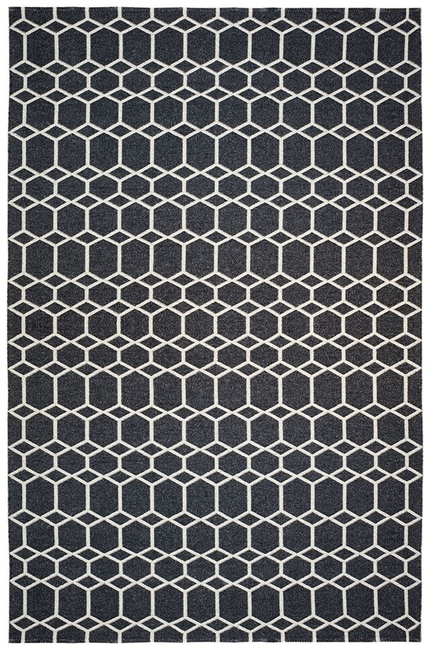 Brita Sweden Ingrid Black 200x300 cm carpet -Brita Sweden