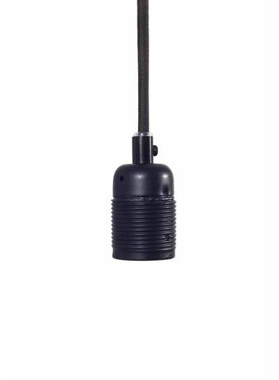 Frama Kit de suspensión cable/enchufe E27 negro mate-Frama