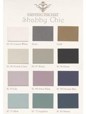 Nuancier Peinture à la Craie - Chabby Chic - Painting the Past