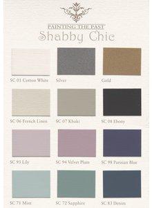 Painting the Past Muestrario de color de la pintura de tiza - Chabby Chic - Painting the Past