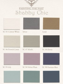 Painting the Past Swatches paint Chalk - Chabby Chic - Painting the Past