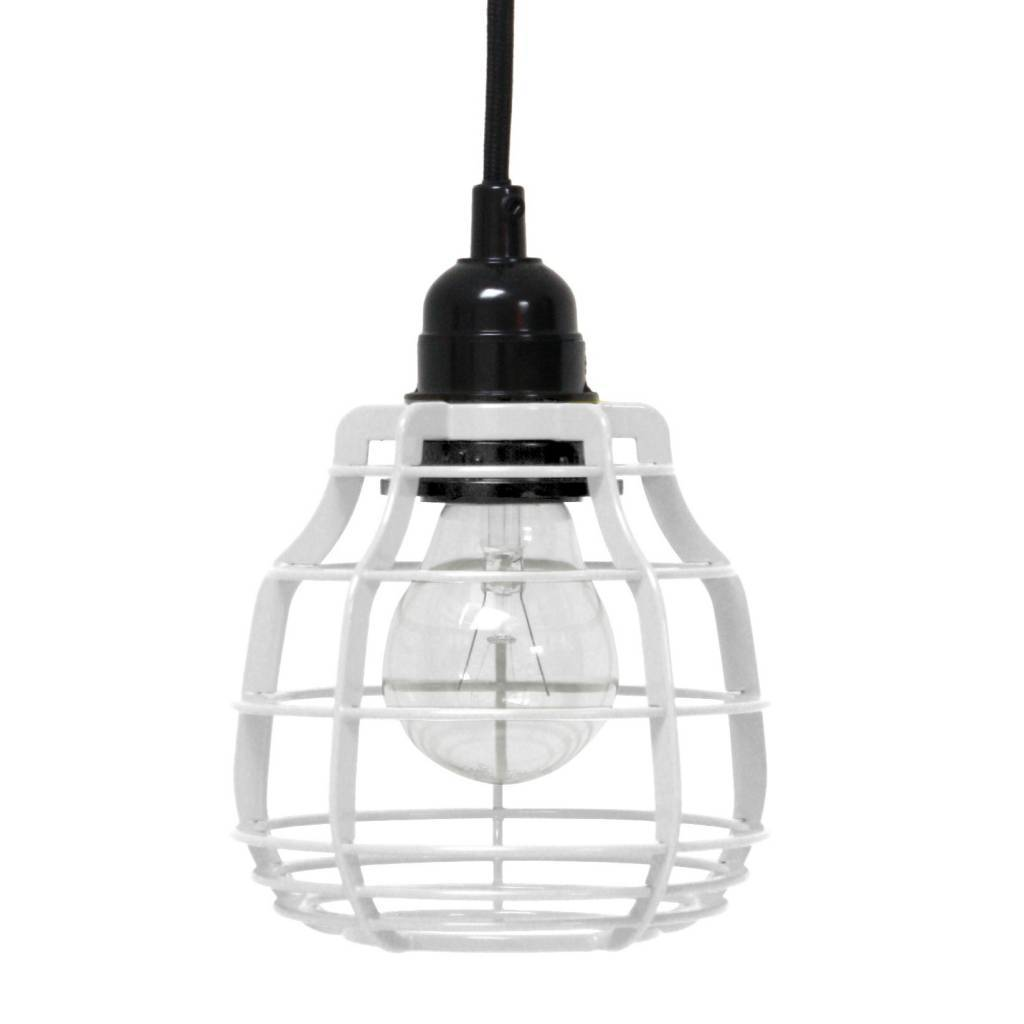 HK Living LAB pendant lamp - White - HK Living