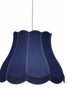 HK Living Lámpara de suspensión en Jean Azul - Ø 60cm - HK Living