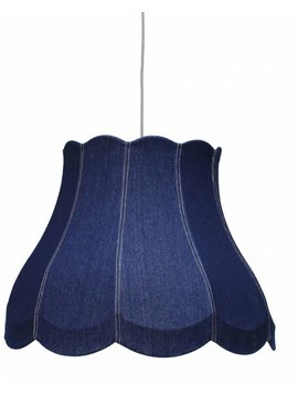 HK Living Suspension Canvas Denim Bleu Ø 60cm HK Living