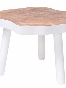 HK Living Tree table - 65m - white wood - HK Living