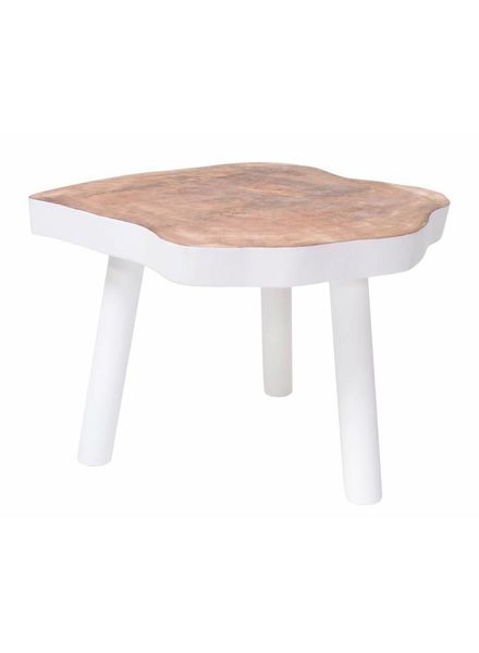 HK Living Tree table - 65m - white wood - HK Living
