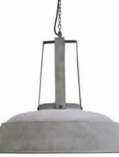 HK Living Industrial Hanging Lamp - Rustic Grey - Metal - Ø74 - HK Living
