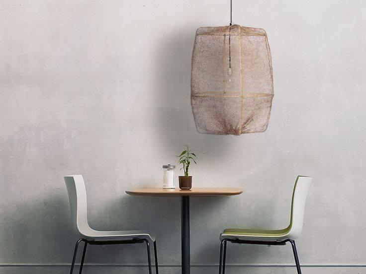 lampe suspension z2 ona bambou et sisal tea 77cm marron ay illuminate petite lily interiors. Black Bedroom Furniture Sets. Home Design Ideas