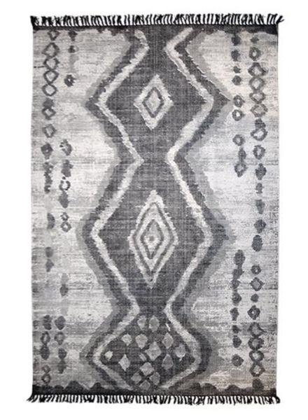 HK Living Boucherouite rug - 180x280cm - Grey - HK Living