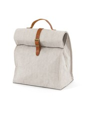 Uashmama Washable Paper Lunch Bag / Doggybag - Light Grey - Uashmama