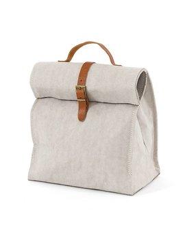 Uashmama Washable Paper Lunch Bag / Doggybag - Light Grey - Uashmama