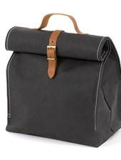Uashmama Washable Paper Lunch Bag / Doggybag - Black - Uashmama