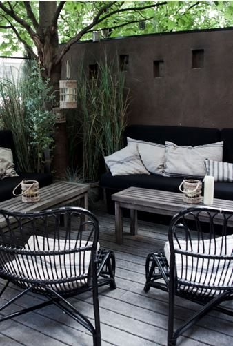 House Doctor Chaise Lounge en Bambou House Doctor