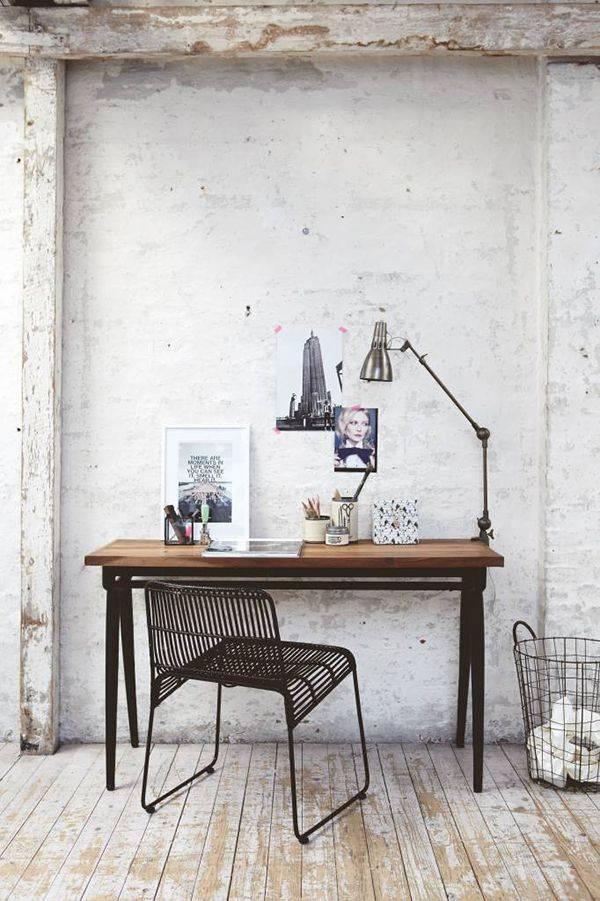 Bureau / Table industrielle Vintage House Doctor - Vu sur bloodandchampagne.com